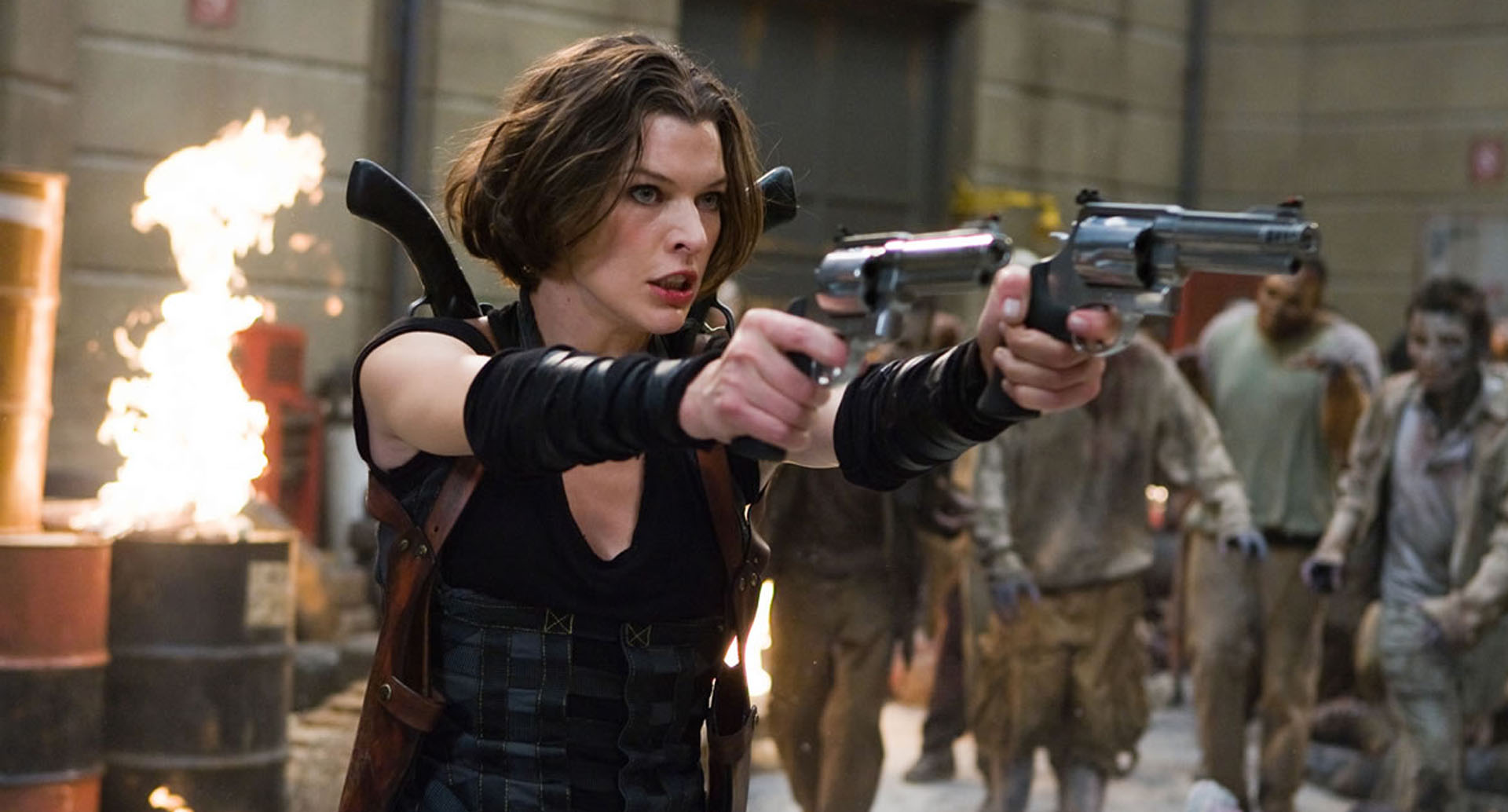 Is Netflix developing Resident Evil TV series?