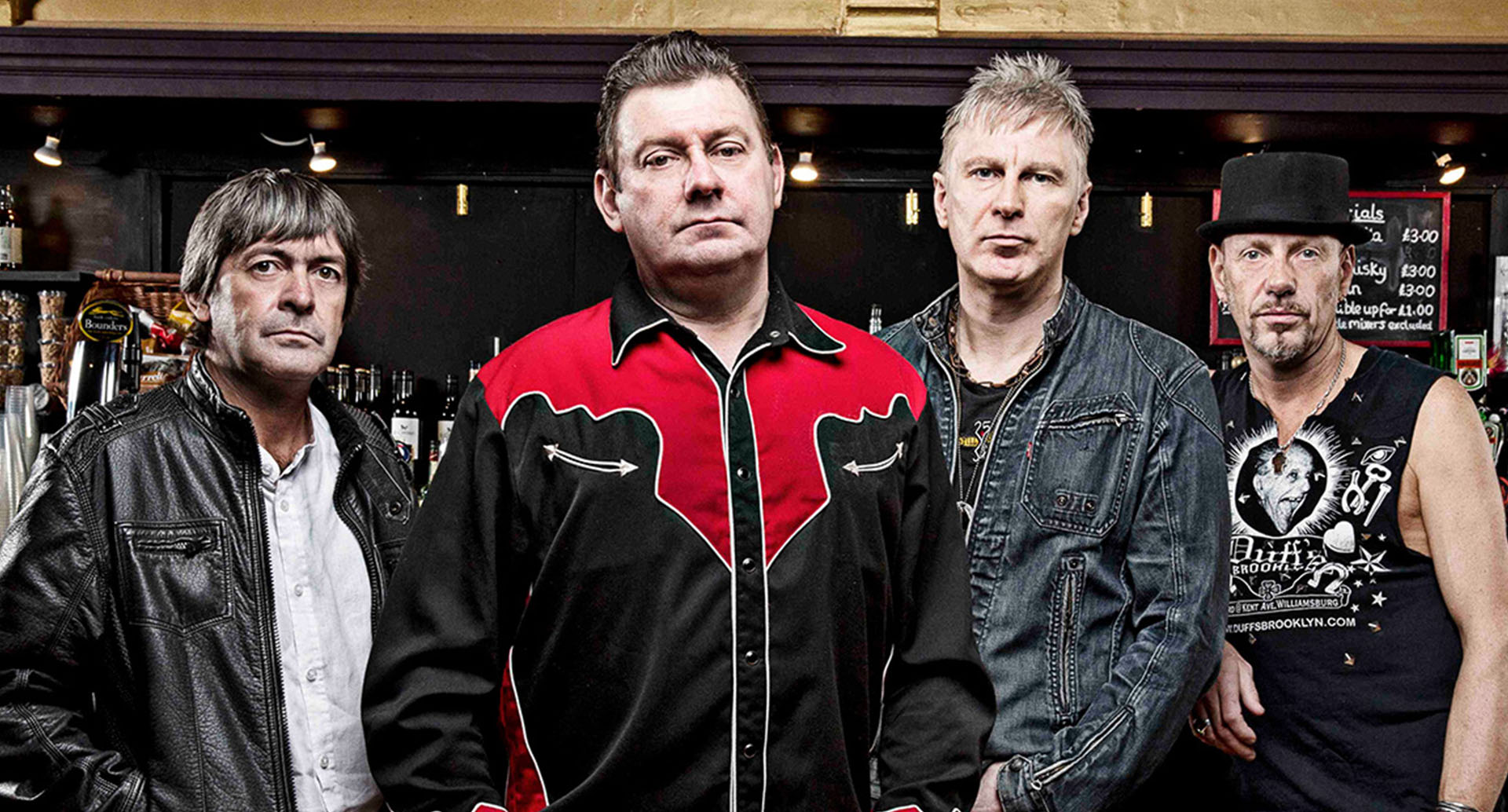 Stiff Little Fingers will perform in Singapore on February 2020