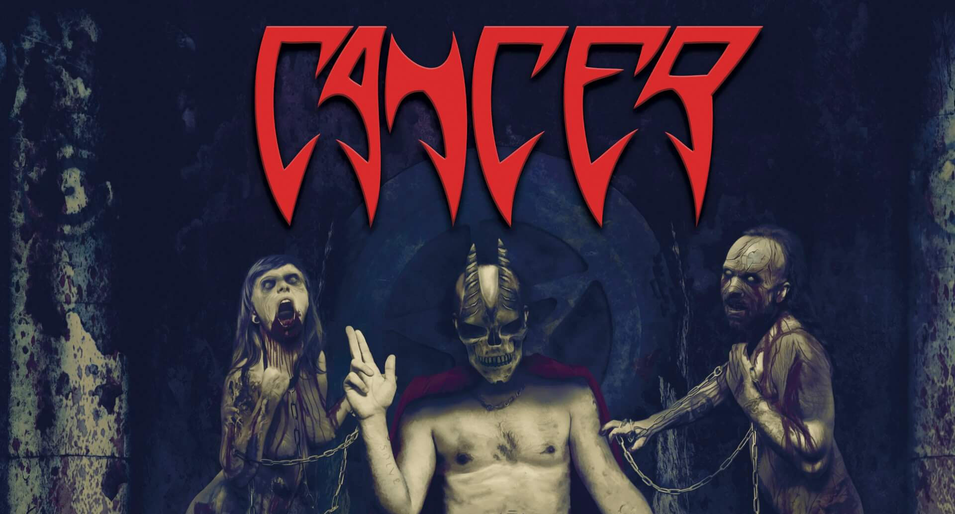 The UK legends of death metal Cancer announced for SG Metal Mayhem III