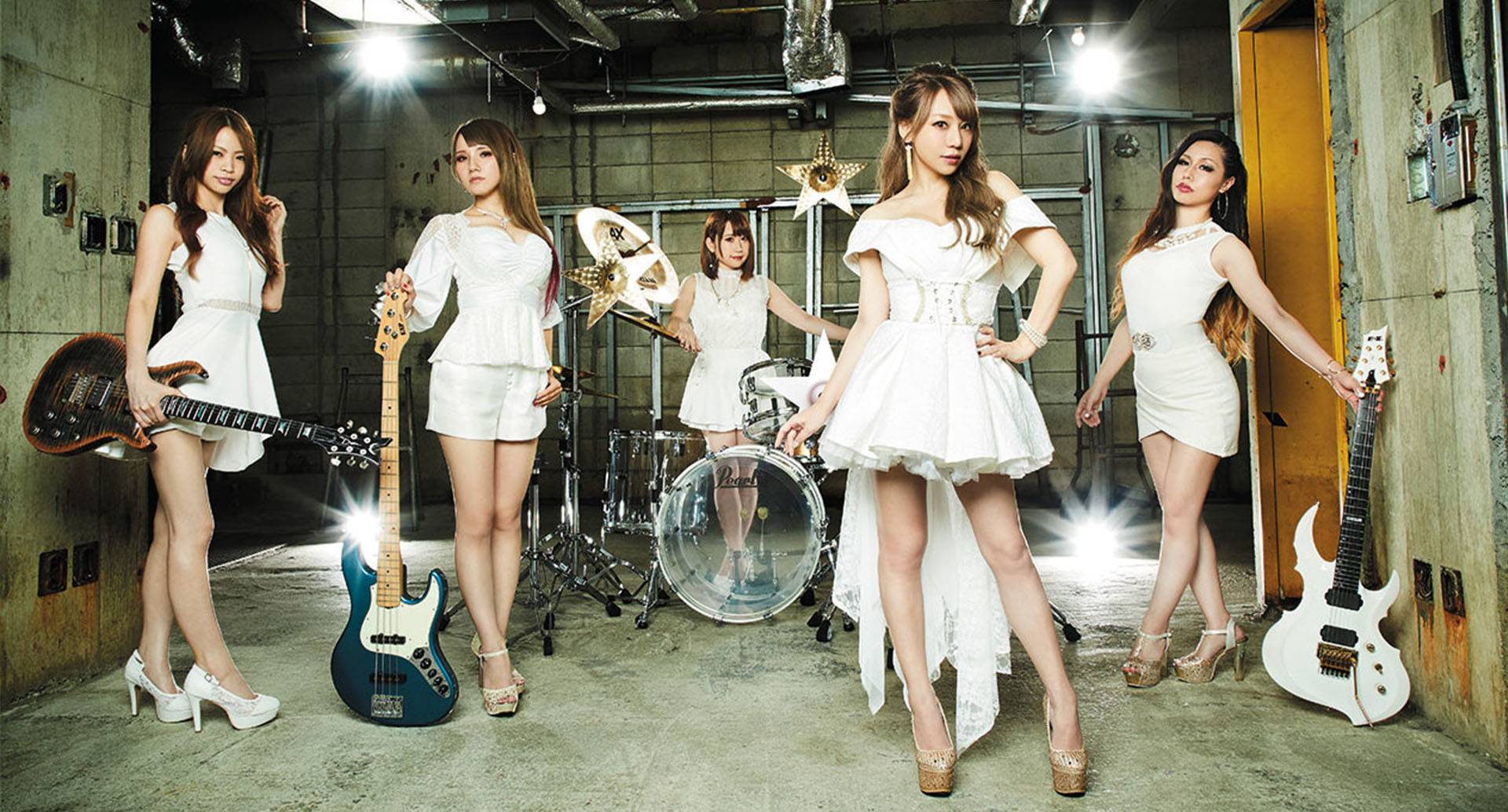 Lovebits, Japan All Female Metal band Live in Singpore 2020