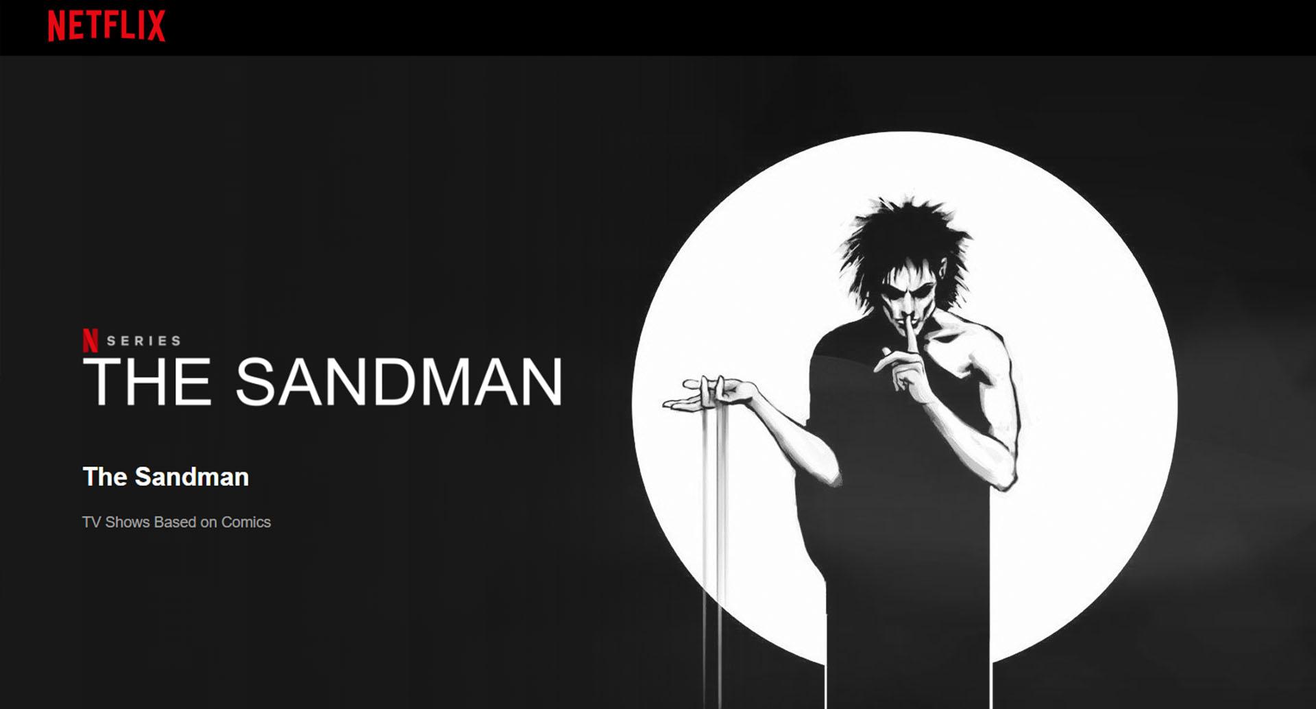 Netflix Neil Gaiman 'The Sandman' has been postponed indefinitely.