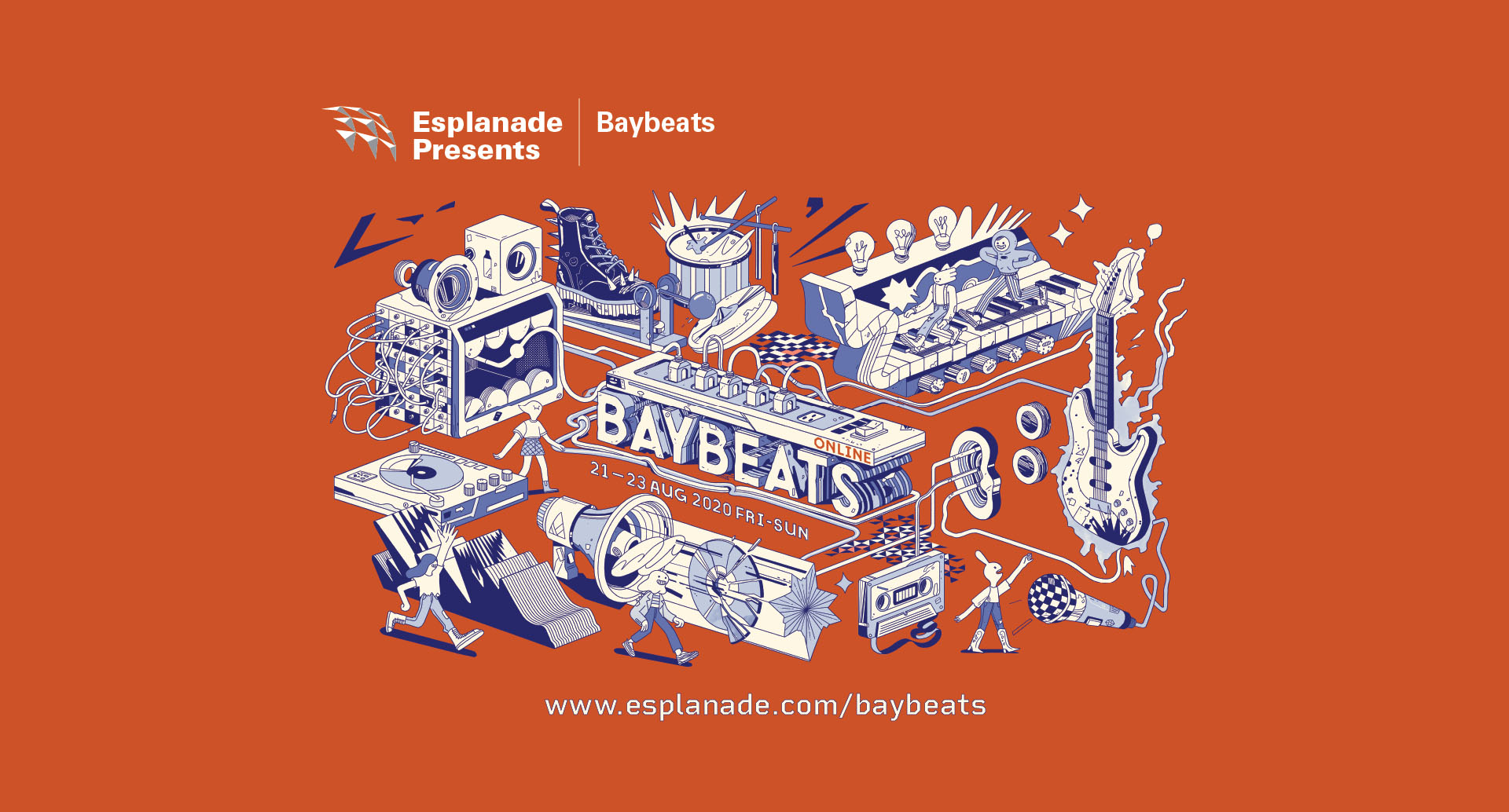Baybeats Online featuring Tell Lie Vision, Iman's League, Forests and more!