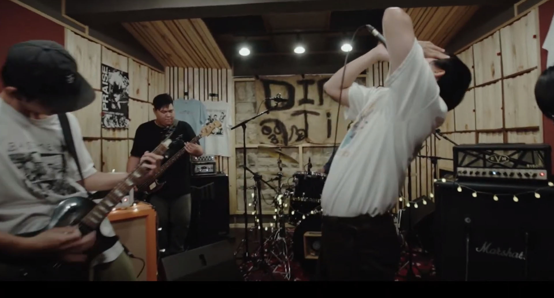 Taiwanese hardcore act Defeat the Giant drop Live studio session video.