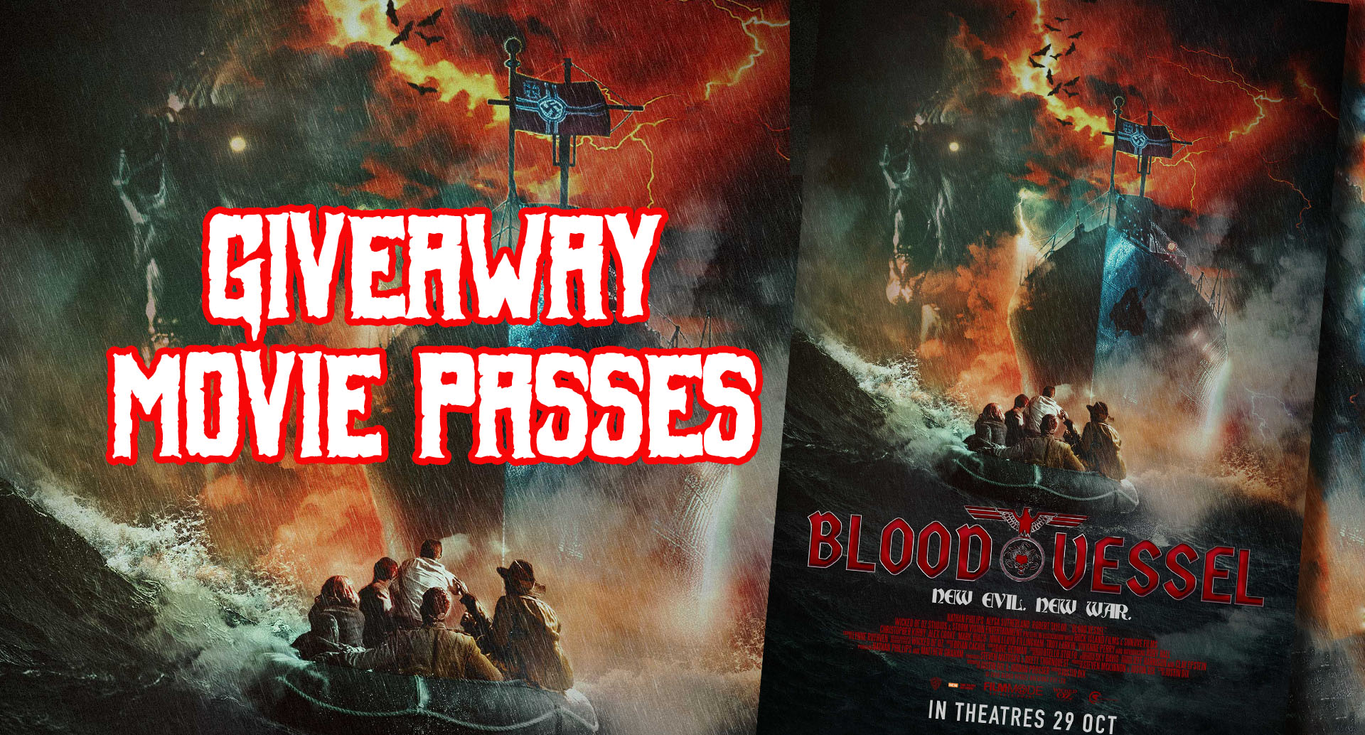 [CLOSED] GIVEAWAY MOVIE PASSES: BLOOD VESSEL