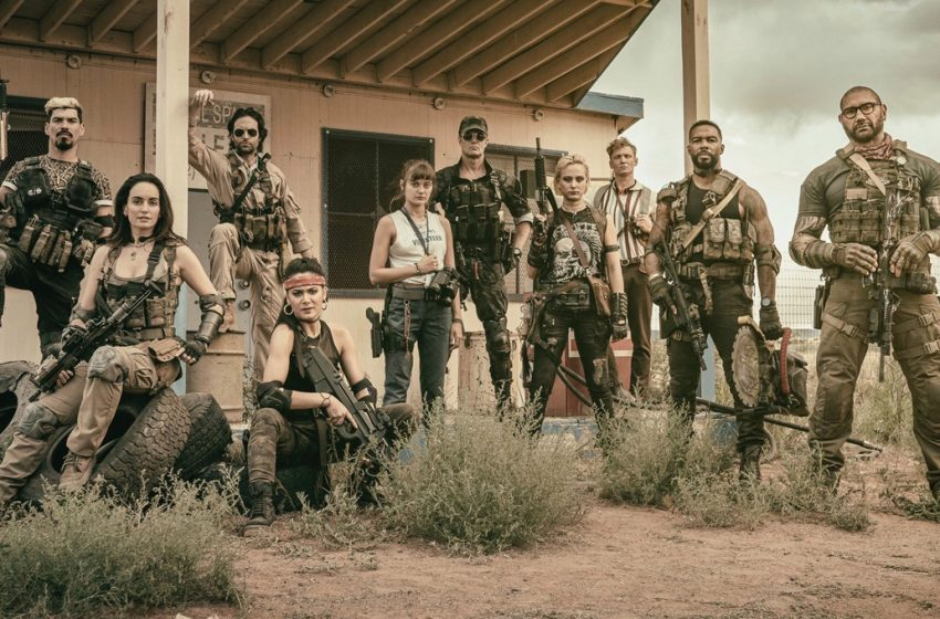 Zack Synder Shares New Pics From his Zombie Heist Netflix Movie Army of the Dead