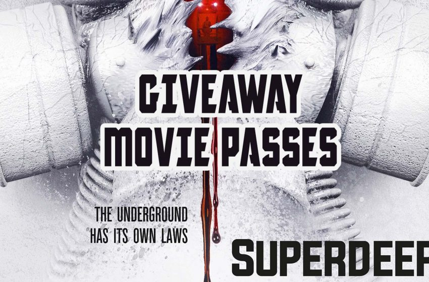 [Closed] Giveaway Movie Passes: Superdeep